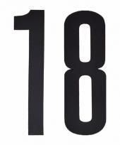 Cijfers nummers stickers 18