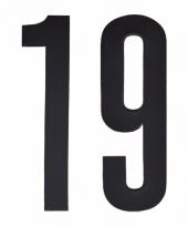 Cijfers nummers stickers 19