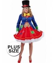 Clown lucky jurkje voor plus size dames