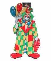 Clown met ballonnen decoratie