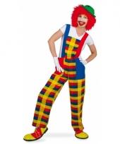 Clown verkleedoutfit pebbi