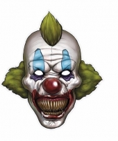 Clownsmasker horror clown van karton