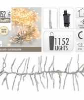 Clusterverlichting warm wit buiten 1152 lampjes 10105208