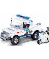 Cobi politiewagen set