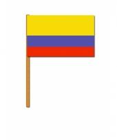 Colombia versiering zwaaivlag