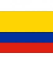 Colombiaanse vlag mini 60 x 90 cm