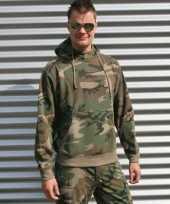 Comfortable camouflage sweatshirt