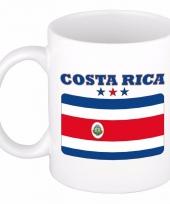 Costa ricaanse vlag koffiebeker 300 ml