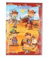 Cowboy notitieboekje gelinieerd