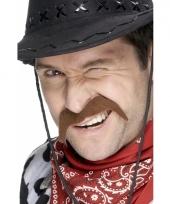 Cowboy snorren bruin