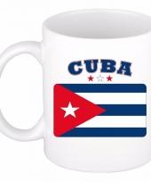Cubaanse vlag koffiebeker 300 ml