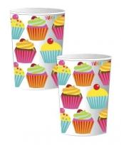 Cupcake bekertjes 25 cl