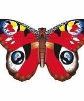 Dagpauwoog vlinder vlieger 70 x 48 cm