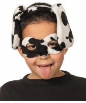 Dalmatier masker en diadeem voor kids