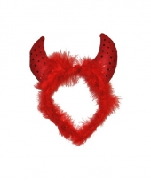 Dames duiveltjes haarband