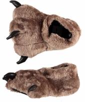 Dames pantoffels berenpoot