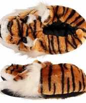 Dames pantoffels tijger