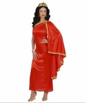 Dames rood gewaad jurk