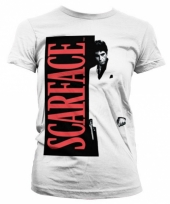 Dames t-shirt scarface