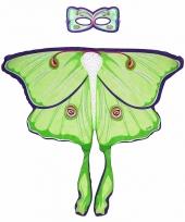 Dans geel groene vlindervleugels voor kinderen