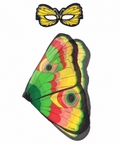Dans monarch gekleurde vlindervleugels voor kinderen