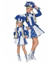 Dansmarieke outfit blauw voor meiden
