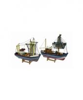 Deco vissersboten 24 cm