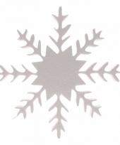 Decoratie ijskristal van piepschuim 20 cm 10077504