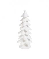 Decoratie kerstboom wit 52 cm