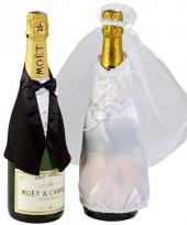 Decoratie man vrouw champagne
