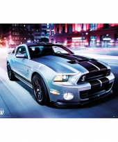 Decoratie poster ford shelby 61 x 91 5 cm
