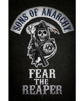 Decoratie poster sons of anarchy 61 x 91 5 cm