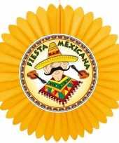 Decoratie waaier mexico