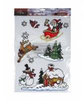 Decoratieve raamstickers voor kerst