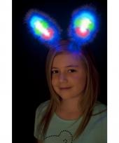Diadeem met bunny oren lichtgevend 10032692