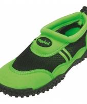 Dichte waterschoenen groen voor volwassenen