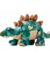 Dieren knuffels dino stegosaurus 33 cm
