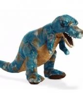 Dieren knuffels dino t rex 35 5 cm