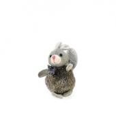 Dieren stuiterbal konijn 13 cm