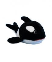 Dierenknuffel orka 13 cm