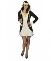 Dierenkostuum pinguin jurk dames