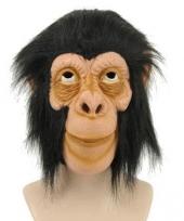 Dierenmasker aap met haar