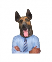 Dierenmasker hond duitse herder