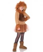 Dierenpak leeuwen jurkje voor kinderen