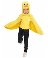 Dierenpakken eenden cape voor peuters