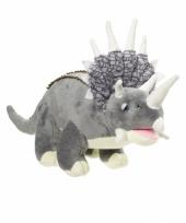 Dinosaurus knuffel triceratops 42 cm