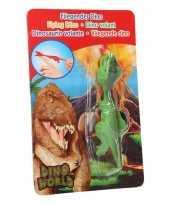 Dinosaurus speel katapult groene t rex