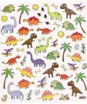 Dinosaurussen knutsel stickers