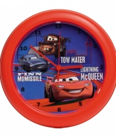 Disney cars thema klok