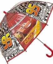 Disney kinderparaplu cars bliksem mc queen rood 45 cm